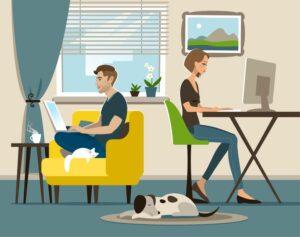 Les risques du télétravail et ses conséquences sur votre corps